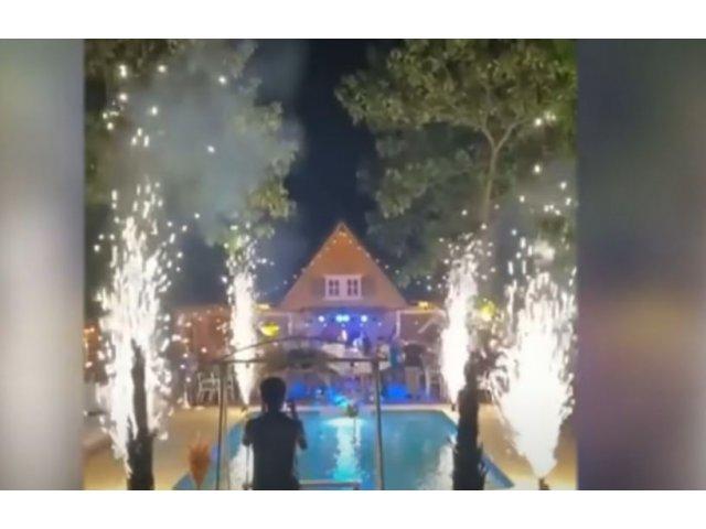 VIDEO Infern la o nuntă din Dolj. Patru oameni, răniți de artificii/...