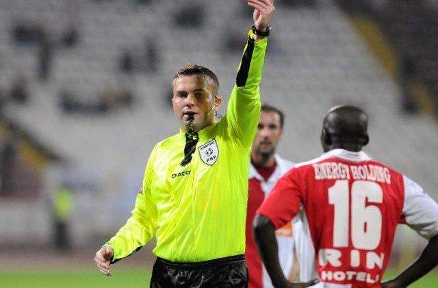 Scandalul de coruptie din fotbal: Fostul arbitru Marius Martis, eliberat