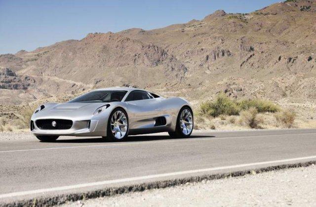 Atentie, curenteaza! Noul Jaguar C-X75, un bolid cu 780 CP!