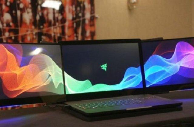 Razer Project Valerie - un laptop cu trei (3!) monitoare
