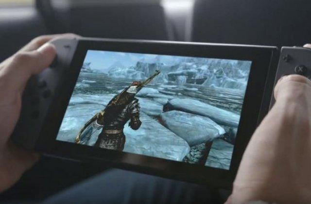 Consola de jocuri Nintendo Switch va fi disponila incepand cu 3 martie