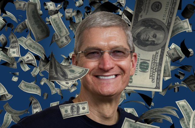 Salariul CEO-ului Apple a fost taiat. Cat castiga acum