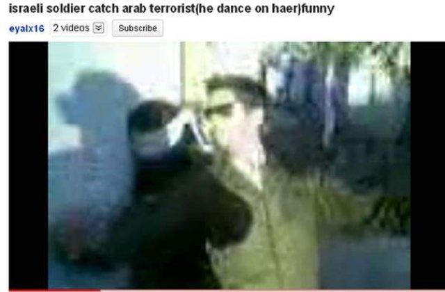 [VIDEO] Soldat israelian filmat dansand langa o prizoniera