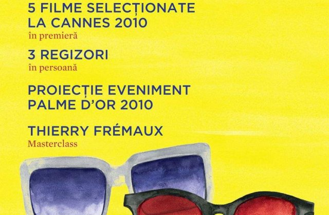 [VIDEO] Filmele de la Cannes, la Bucuresti