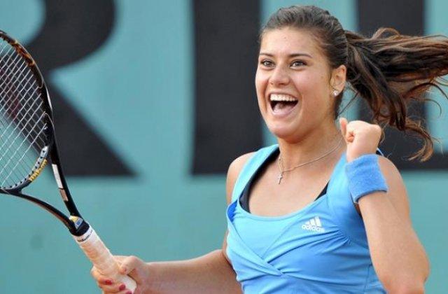 Sorana Cirstea s-a calificat in optimi la Australian Open