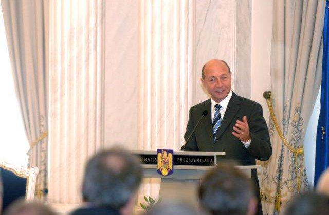 Lista lui Basescu pentru Presedintia Romaniei