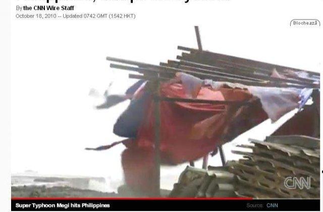 [VIDEO]: Insulele Filipine, lovite de cea mai puternica furtuna de pe Terra