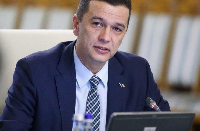 Sorin Grindeanu: Duminica vom face o sedinta de urgenta pentru abrogarea OUG