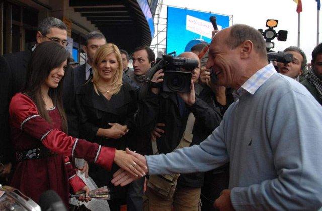 Udrea, deceptionata de Basescu
