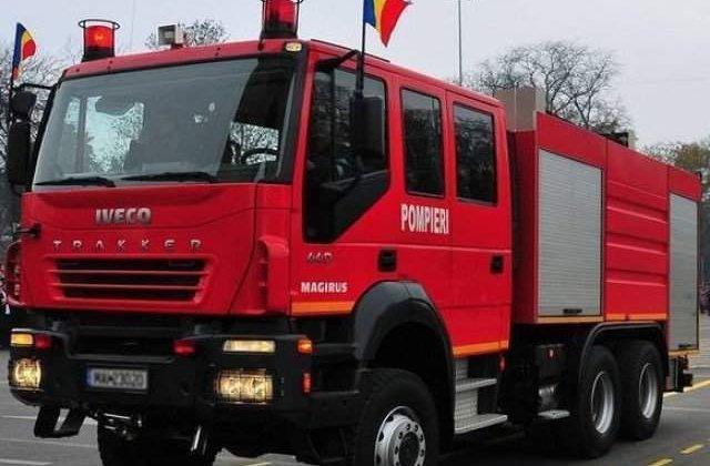 Constanta: Un copil de trei ani a murit, iar mama acestuia si un bebelus au fost raniti, in urma unui incendiu