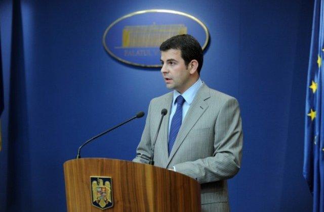 Daniel Constantin: Orice fel de schimbare pe zona de justitie va fi facuta la nivelul Parlamentului