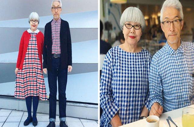 [FOTO] De 37 de ani, acest cuplu isi asorteaza tinutele in fiecare zi