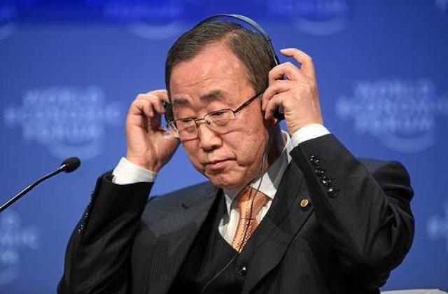 WikiLeaks: CIA a cerut informatii despre Ban Ki-monn