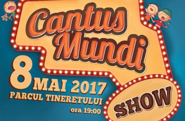 Cantus Mundi Fest, cel mai mare eveniment de Ziua Europei in Bucuresti