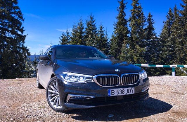 TEST-DRIVE. Noul BMW Seria 5 xDrive este o masina completa si are un pret corect