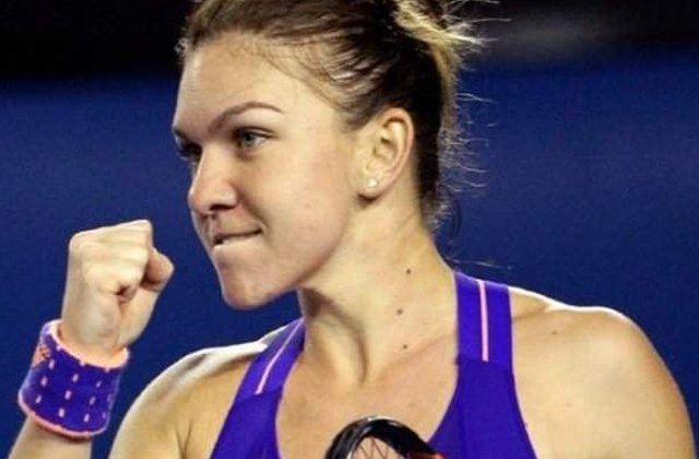Turneul de la Madrid: Simona Halep a invins-o pe Coco Vandeweghe si s-a calificat in semifinale