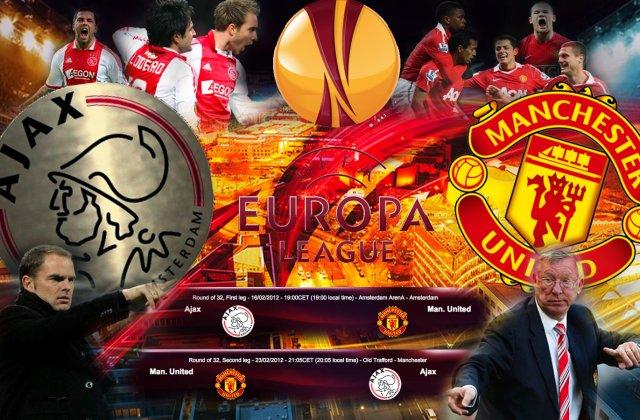 Europa League: Ajax Amsterdam si Manchester United vor juca finala