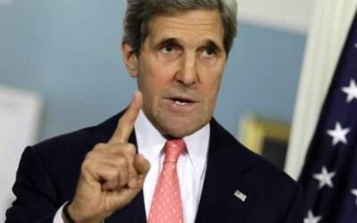 Kerry il ironizeaza pe Trump...