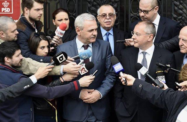 Dragnea ii ia apararea Gabrielei Firea: L-am rugat pe premier sa se abtina de la declaratii politice
