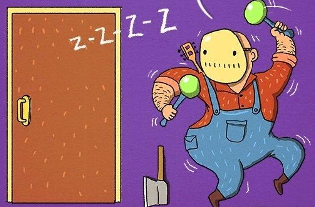 Te sperii la filmele horror? 7 ilustratii care te vor ajuta sa te amuzi la scenele de groaza