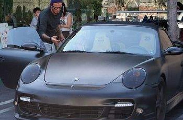 Masina lui Beckham, de vanzare pe eBay