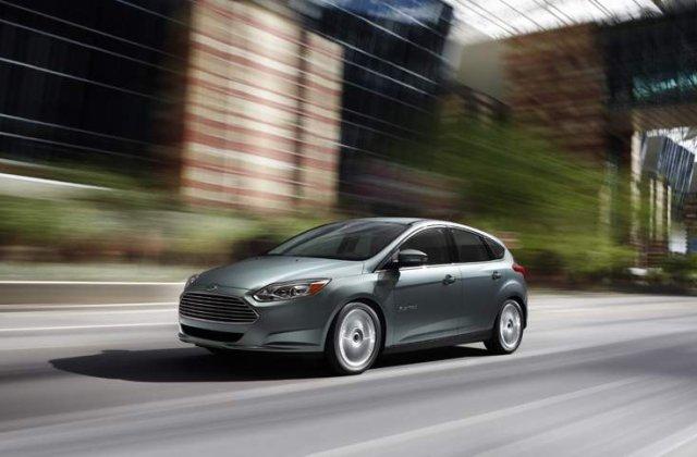 Iata noul Ford Focus electric