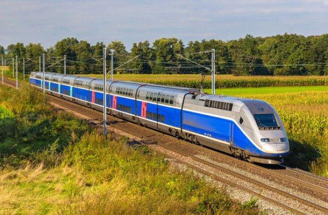 Franta vrea sa introduca trenuri TGV autonome incepand din 2023