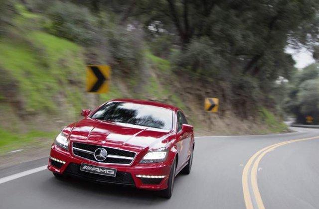 Galerie foto cu noul Mercedes CLS 63 AMG