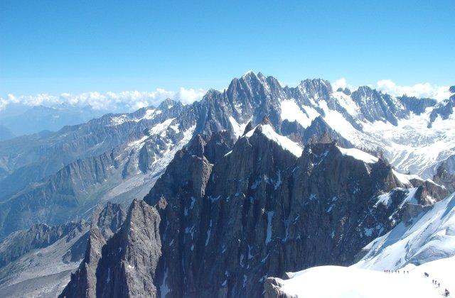 Cum se vede lumea de pe Mont Blanc! Imagini INEDITE de la 4.810 metri inaltime