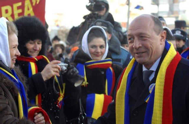 [VIDEO] Traian Basescu, huiduit de Ziua Unirii