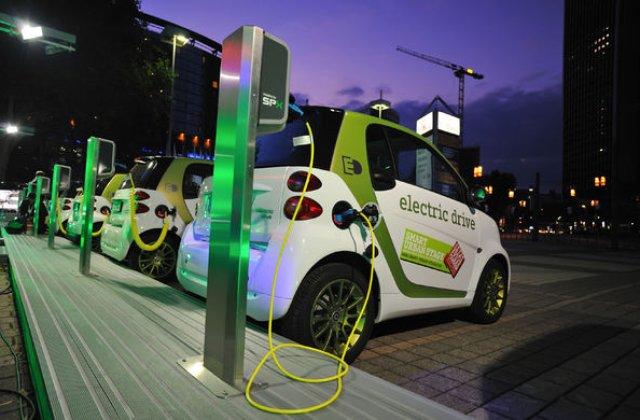 """Un nou proiect eco: E.ON si Mol vor instala 40 de statii de incarcare pentru vehiculele """"verzi"""""""