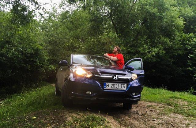 TEST-DRIVE. Honda HR-V, crossover-ul incapator si user-friendly