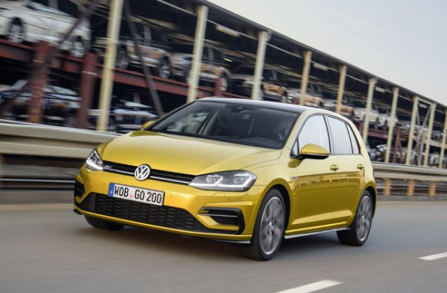 Statistici la jumatate de an: Volkswagen Golf conduce clasamentul celor mai bine vandute modele din Europa, in timp ce Sandero se pozitioneaza pe locul 17