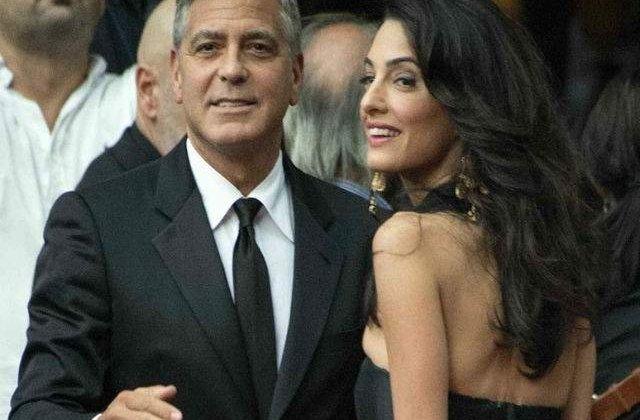 George si Amal Clooney vor ajuta 3.000 de copii sirieni refugiati sa mearga la scoala in Liban