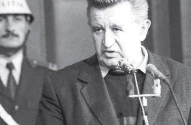 Tudor Postelnicu, fostul sef al Securitatii in timpul regimului comunist, a murit