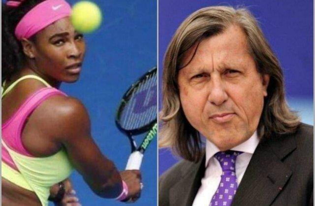 Serena Williams, un nou atac virulent la adresa lui Ilie Nastase: Este lipsit de clasa