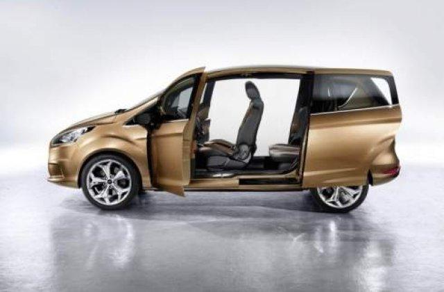 Oficial: Modelul Ford care va fi produs la Craiova, noul B-Max