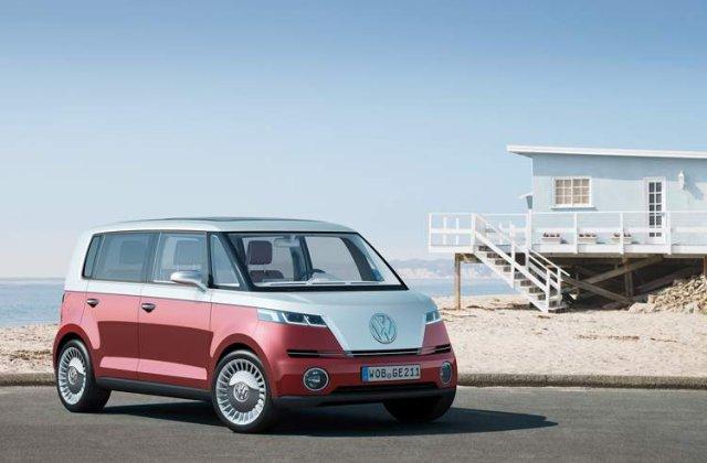 Volkswagen Bulli Concept, pentru nepotii hipiotilor de altadata