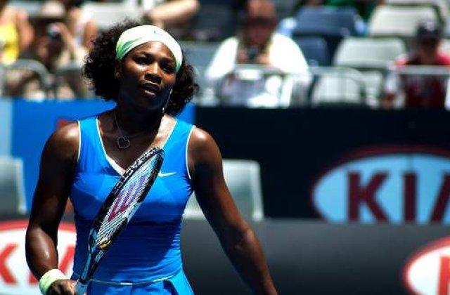 Serena Williams, internata de urgenta