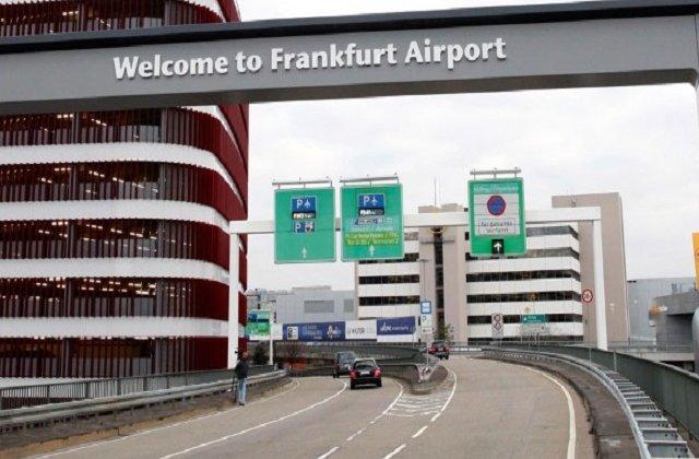 Alerta cu bomba pe aeroportul din Frankfurt