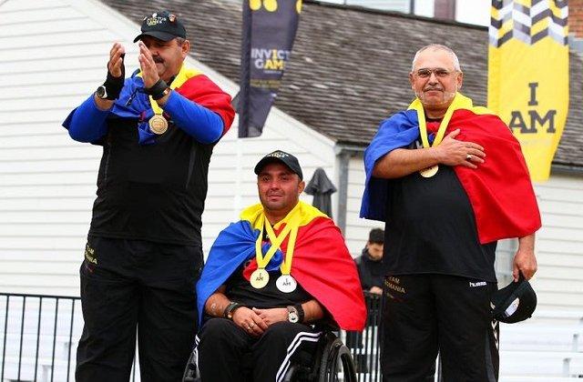 Medalie de aur pentru echipa de tir cu arcul a Romaniei, la Jocurile Invictus