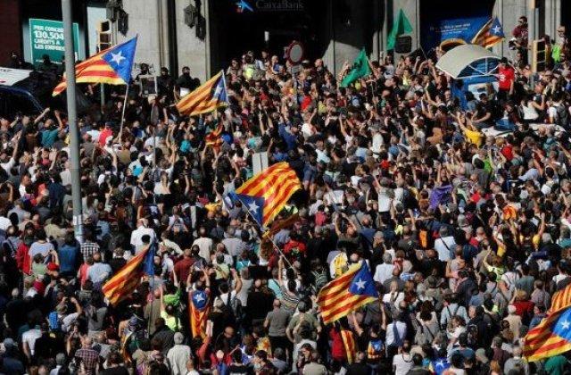 90% dintre cei 2,26 de milioane de catalani care au votat duminica s-au pronuntat pentru independenta