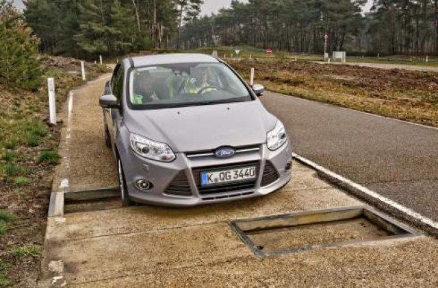 [VIDEO] Cum testeaza Ford suspensiile masinilor