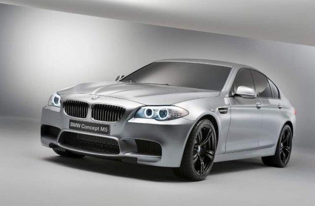 OFICIAL: Iata noul BMW M5 Concept!