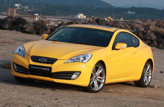 Hyundai Genesis Coupe a debutat in Romania