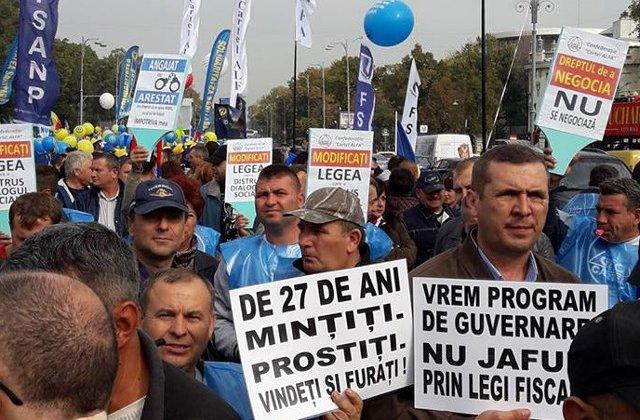 Sindicatele cheama oamenii la proteste duminica: Romania a ajuns intr-unul dintre cele mai grave momente ale istoriei sale postcomuniste