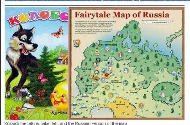 Rusia si Ucraina, in conflict din cauza basmelor?