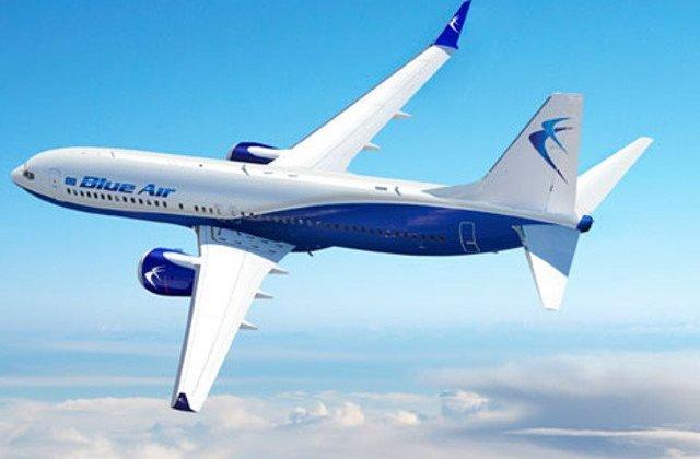 Un Avion Blue Air cu 100 de romani a aterizat de urgenta la Palermo / VIDEO