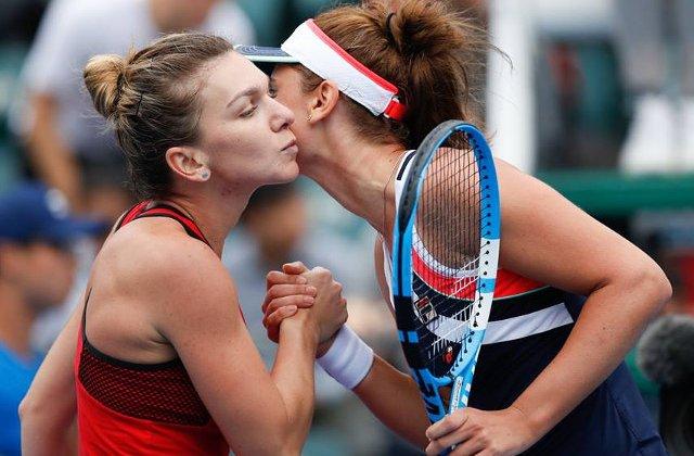 Simona Halep si Irina Begu s-au calificat in finala probei de dublu la Shenzhen (WTA)