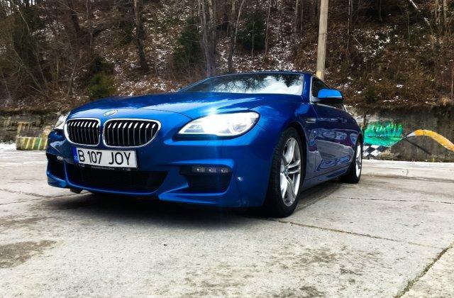 TEST-DRIVE. BMW Seria 6 Gran Coupe - am condus un vis
